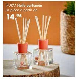 Huile parfumée offre à 14,95€
