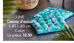 Coussins offre à 10,5€