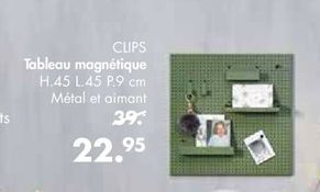 Tableau magnétique offre à 22,95€