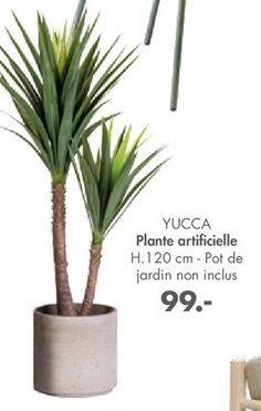 Plantes artificielles offre à 99€