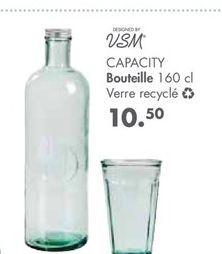 Bouteille en verre offre à 10,5€