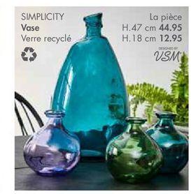 Vase offre à 44,95€
