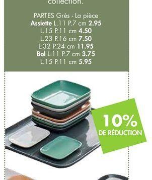 Assiettes offre à 2.95€
