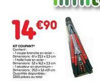 Kit coupant offre à 14,9€