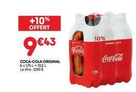 Coca-cola original offre à 9,43€