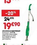 Désherbeur électronique offre à 19,9€