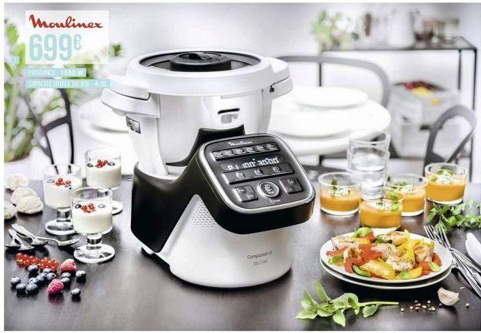 Robot de cuisine Moulinex offre à