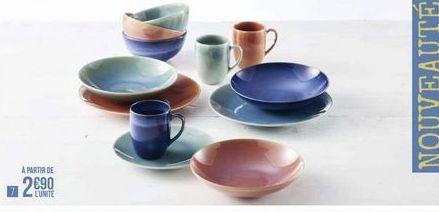 Vaisselle offre à