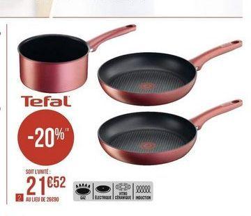 Ustensiles de cuisine Tefal offre à
