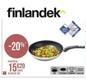 Poêle Finlandek offre à