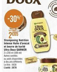 Shampoing Garnier offre à