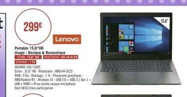 Ordinateur portable Lenovo offre à