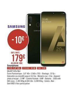 Smartphones Samsung offre à