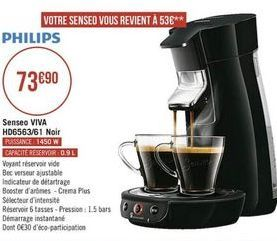 Cafetière Philips offre à