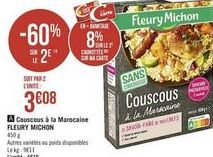 Couscous Fleury Michon offre à