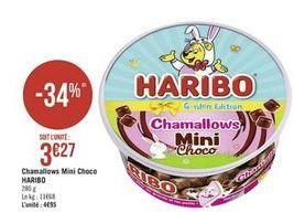 Chamallow Mini Choco Haribo offre à