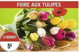 Bouquet de fleurs offre à