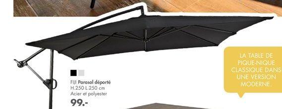Parasol déporté offre à 99€