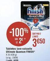 Tablettes lave-vaisselle ultimate Quantum  Finish offre à