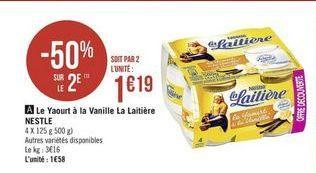 Yaourt La Laitière offre à