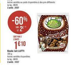 Chocolat Lutti offre à