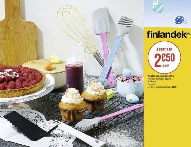 Accessoires Finlandek offre à