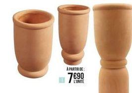 Vase en céramique terre cuite offre à