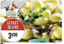 Pommes de terre offre à