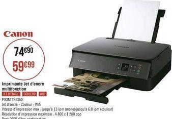 Imprimante Canon offre à
