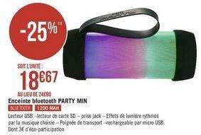 Haut-parleurs Bluetooth offre à