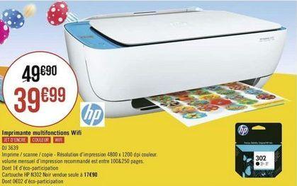 Imprimante HP offre à