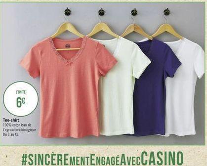 T-shirt offre à