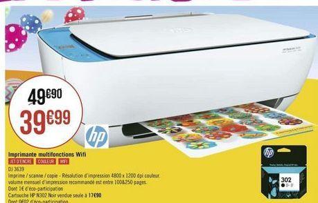 Imprimante offre à