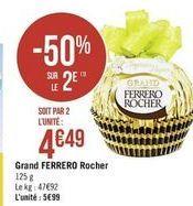 Grand Ferrero Rocher offre à