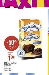 Crème Bridélice offre à