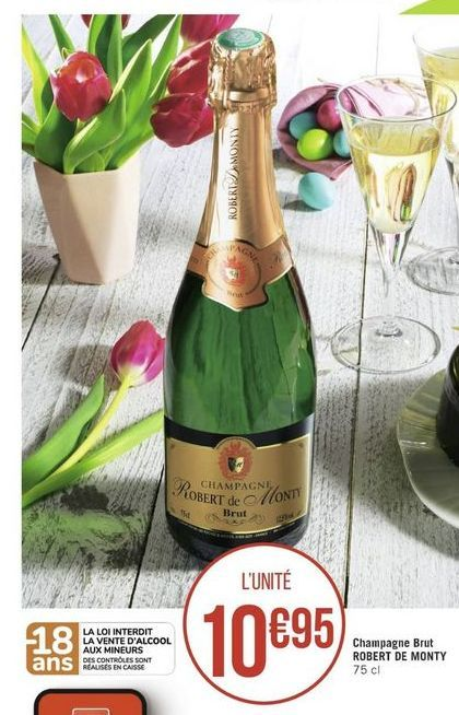 Champagne offre à