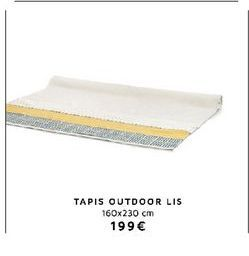 Tapis offre à 199€