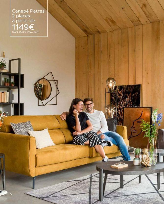 Canapé offre à 1149€