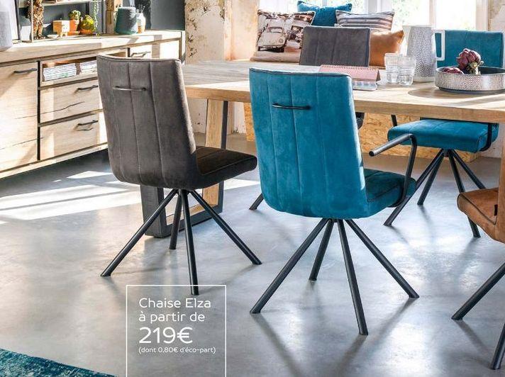 Chaise offre à 219€