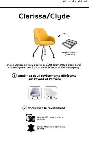 Chaise offre à