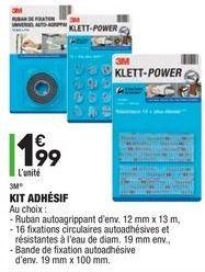 Kit adhésif offre à 1,99€