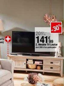Meuble tv Louise  offre à 141,99€