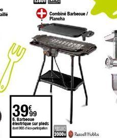 Barbecue electrique sur pleds offre à 39,99€