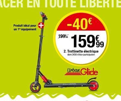 Trottinette électrique  offre à 159,99€