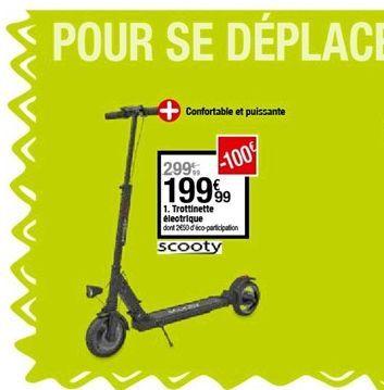 Trottinette électrique  offre à 199,99€