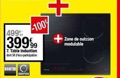 Table induction  offre à 399,99€