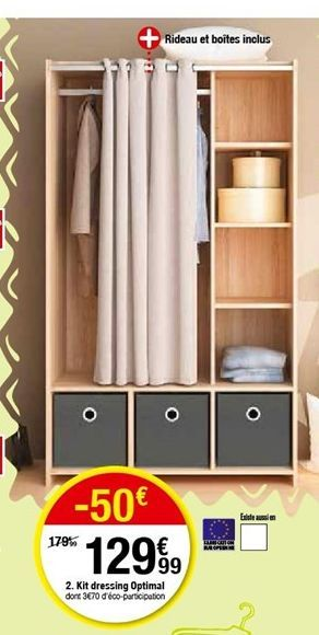 Kit  dressing optimal  offre à 129,99€