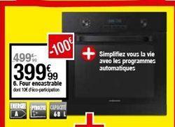 Four encastrable offre à 399,99€