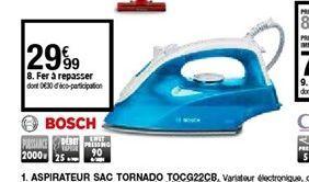 Fer à repasser Bosch offre à 29,99€