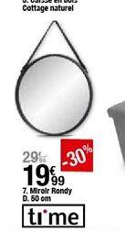 Miroir Rondy 50 cm offre à 19,99€